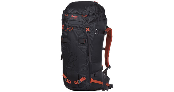 Bergans Helium PRO 55 Backpack Solid Charcoal/Koi Orange